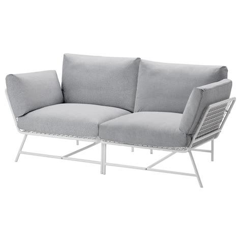 ikea ps 2017 2 seat sofa white grey ikea