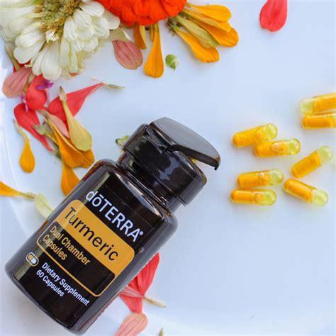 doterra turmeric dual chamber capsule doterra essential oils