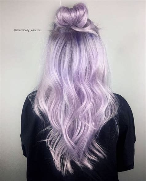 Vpinspiration In Love With This Purple Top Bun