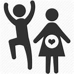 Icon Mother Spouse Pregnant Google Icons Marriage