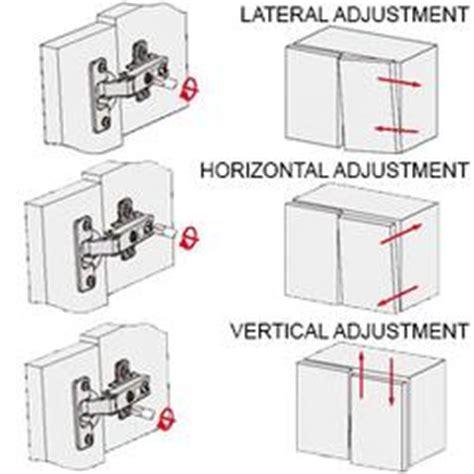How To Adjust Kitchen Cupboard Doors by How To Adjust Cabinet Door Hinges Www Stkittsvilla