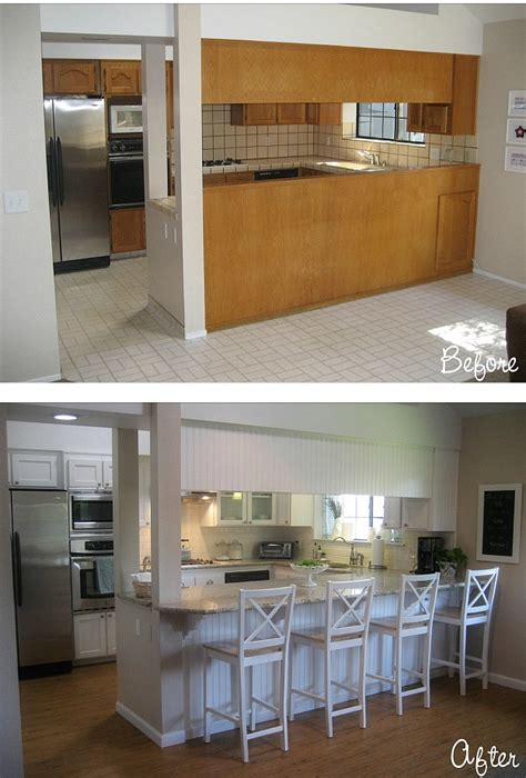 apartment kitchen renovation ideas before after carolyn 39 s quot yucky quot 1980s kitchen hooked