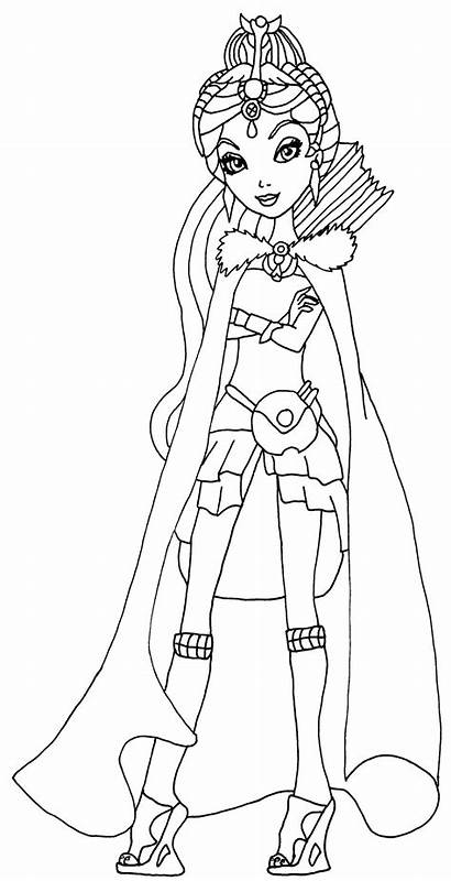 Raven Queen Pintar Dibujos Dibujo Autora Legado