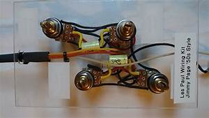 Les Paul Wiring Harness Kit    Jimmy Page