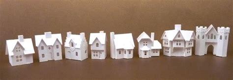 glitter houses tiny village
