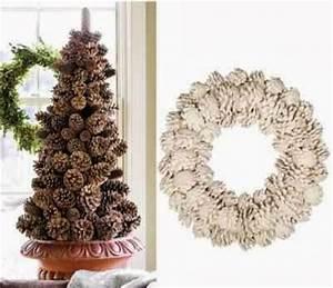 LilacsNDreams Pinecone Christmas Tree Decoration Ornament