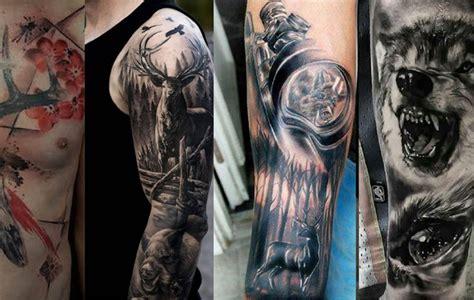 Tatuajes de caza: 30 de los mejores diseños jamás creados