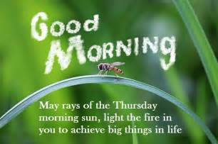 good morning card  message  thursday