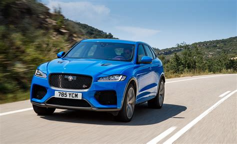 But this is no begrudging concession to fashion. Comments on: The 2019 Jaguar F-Pace SVR Is Fast Without ...