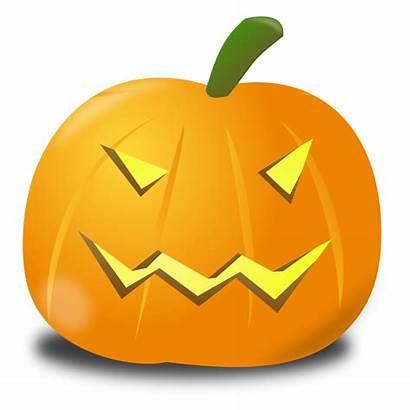Pumpkin Scary Evil Clipart Clip Halloween Transparent