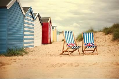 Strandstoelen Strand Het Deck Chairs Engels Murals