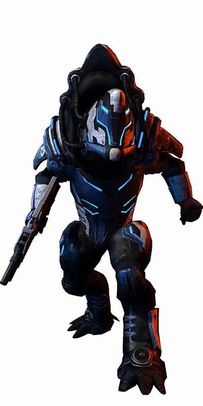Krogan Mass Effect Battlemaster Armor Mp Foudre