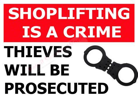 Anti Shoplifting Notice Sign Rigid Uv 5mm Foamboard