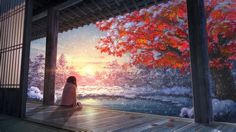 Anime Landscape Wallpaper - landscape anime wallpapers hd desktop and mobile