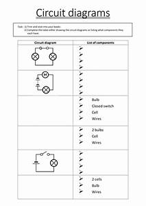 Electrical Circuit Diagram Worksheet
