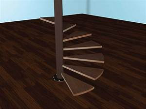 How, To, Build, Spiral, Stairs, 15, Steps