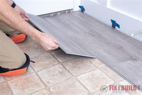 installing vinyl plank flooring   fixthisbuildthat