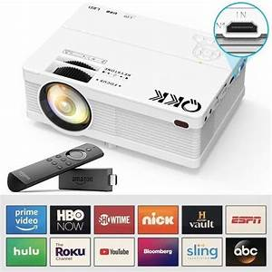 U8316 Qkk Mini Projector 4500lumens Portable Lcd Projector