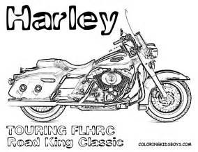 Harley-Davidson Coloring Pages Printable