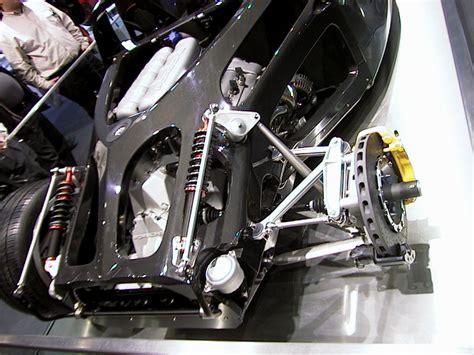 car rear suspension north american international auto show detroit 2004
