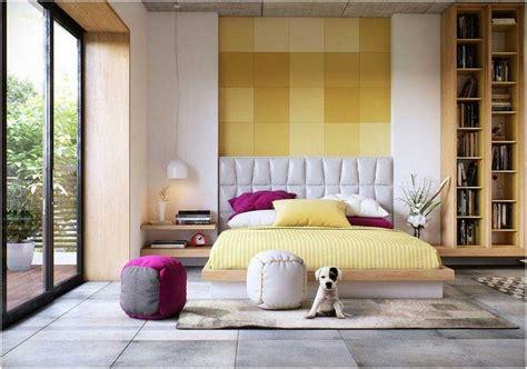idee deco chambre a coucher décoration chambre coucher adulte idées textures couleurs