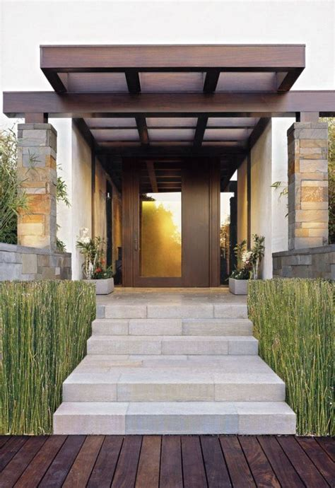 Home Design Ideas Front by Modern Stair Design To Highlight Front Entrance