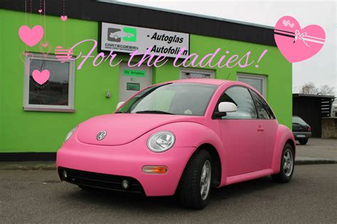 pink vw beetle  joyful cliche autoevolution