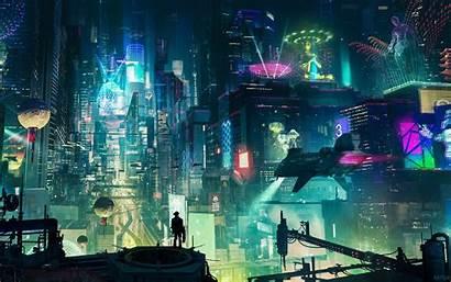 Cyberpunk Wallpapers Resolution Artwork 4k Backgrounds Artstation