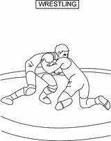 Wrestling Sumo Wrestler Drawing Coloring Pages Getdrawings sketch template