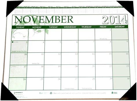 large desk blotter calendar 17x22 inch desk calendar