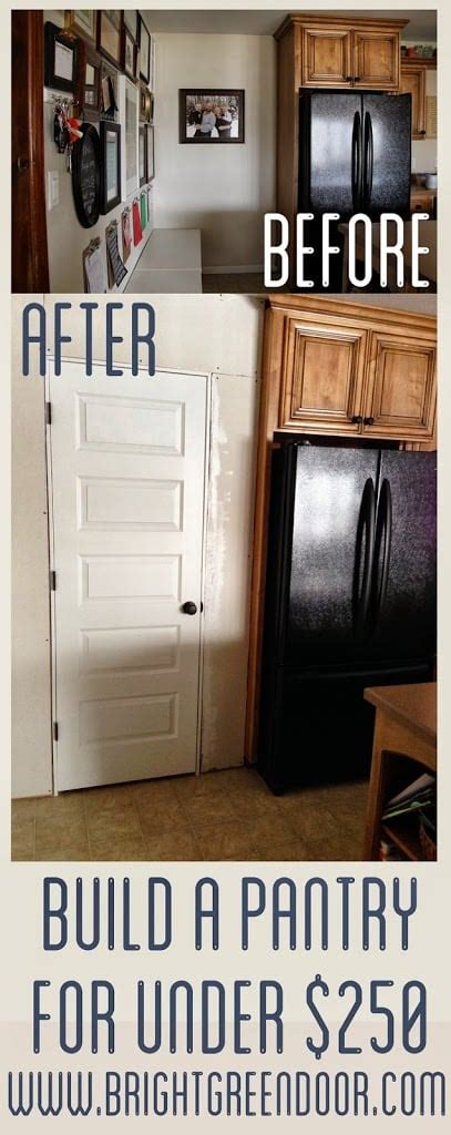 how to build a kitchen pantry cabinet building kitchen pantry on a budget 9295