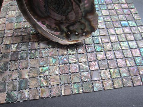 cheap kitchen backsplash cheap abalone shell green mosaic tile kitchen