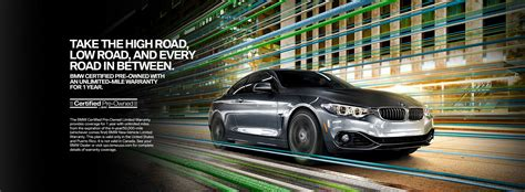 Cpo Bmw Usa by Bmw Certified Pre Owned