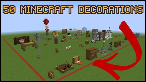 Interior Decoration Tips For Home - 50 minecraft decoration ideas youtube