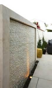 water wall contemporary deck patio k