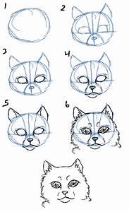Savanna, Williams, How, To, Draw, Cats, Heads