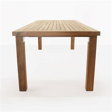 long island teak dining tables outdoor patio restaurant