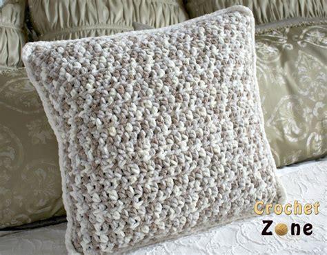 crochet throw pillow free crochet pattern for basic throw pillow crochet zone