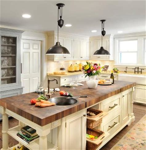 farmhouse kitchen island lighting industrial style pulley lights for a unique antique loft