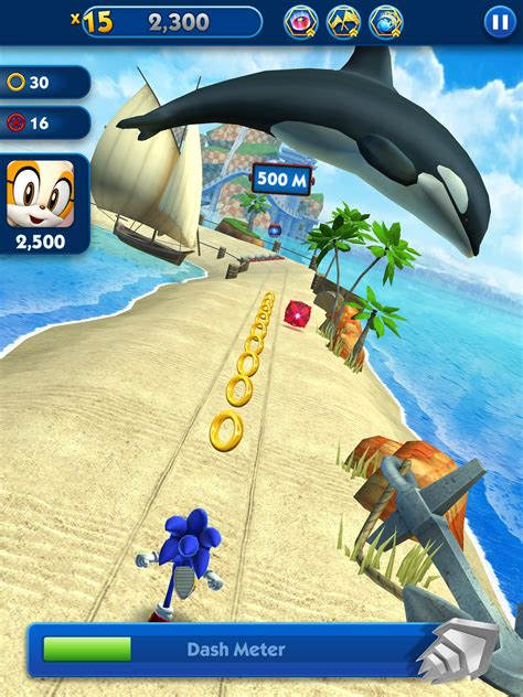 sonic dash endless running racing game  android