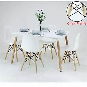 Farbe Weiss Oder Weiß : p n homewares romano moda esstisch set retro inspiriert stuhl und tisch w hlen sie farbe ~ Orissabook.com Haus und Dekorationen