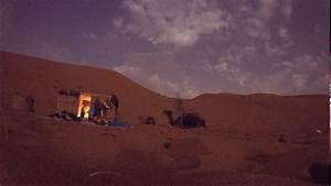 The Sahara desert at night - YouTube