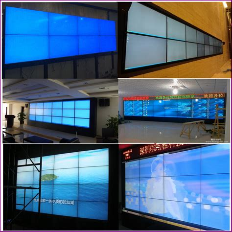 50 inch wall clock indoor led large screen display 55 inch multi tv wall with