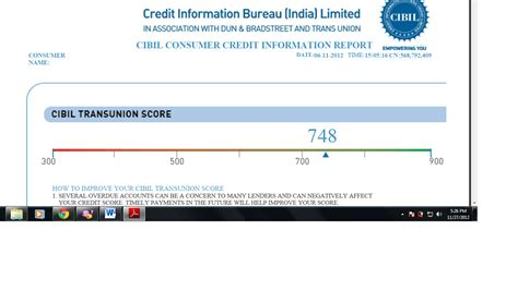 information bureau format of cibil credit report credit reports reporting