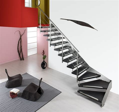 escalier quart tournant hetre best 25 escalier quart tournant ideas on