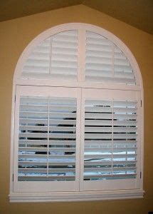 plantation shutters  arched windows google search
