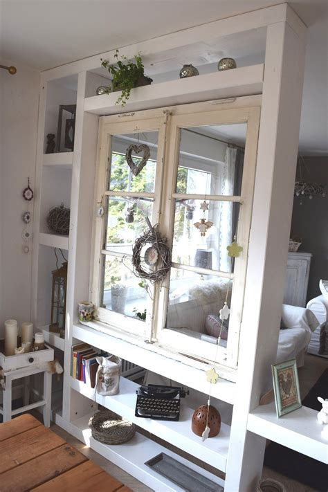 Raumteiler Mit Altem Fenster  Küche  Pinterest Alte