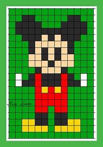 Pixel Art Voiture Facile : theme mickey donald et cie ~ Maxctalentgroup.com Avis de Voitures