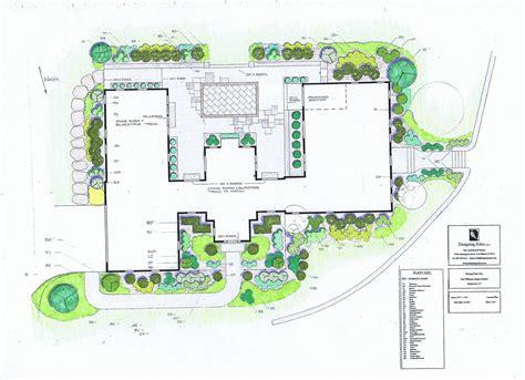 landscape design plans landscaping design house pdf