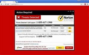 Tech support scammers lure users with fake Norton warnings ...